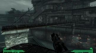 Как попасть на корабль Fallout 3