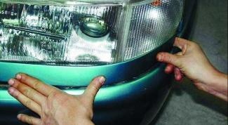 Как установить фары ВАЗ 2112