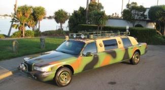 Как покрасить машину в камуфляж
