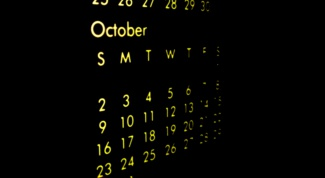 How to write the date in English