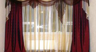 Как пришить петлю на штору