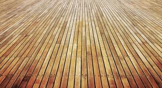 Как укрепить деревянный пол