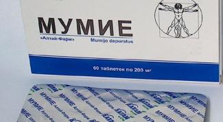 Как принимать мумиё при переломах
