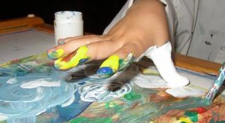 Как сделать пальчиковые краски