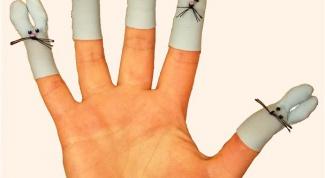 Как сделать пальчиковую куклу