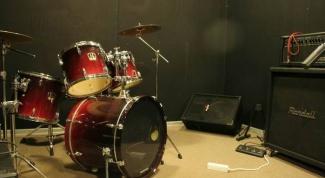 Как собрать барабанную установку