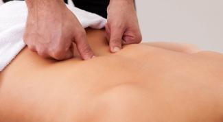 Как делать массаж поясницы