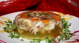 How to cook chicken aspic