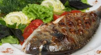 Как готовить рыбу дорадо
