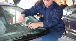 Как удалить трещину на стекле