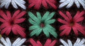 Как вышивать по трикотажу