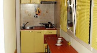 Как сделать встроенную кухню
