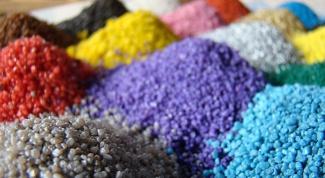 сделать цветной песок