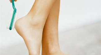 How to get rid of rough heels