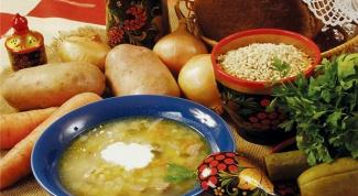Как варить суп с перловкой