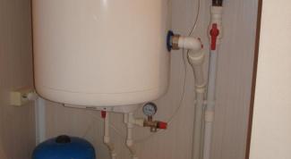 How to hang a boiler