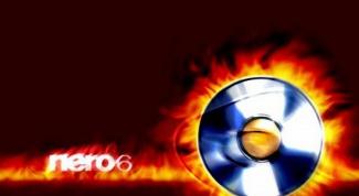 Как записать dvd с помощью Nero 6