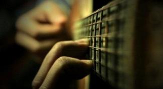 Как перебирать на гитаре