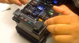 Как соединить оптоволоконный кабель