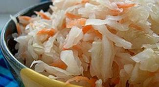 Как приготовить соленую капусту