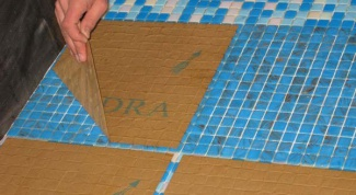 How to lay tile mosaic