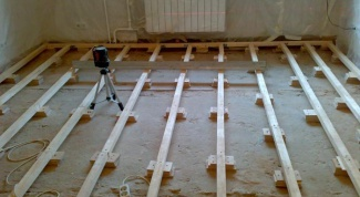 How to lay floor on the joists