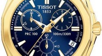 Как укоротить браслет на часах Tissot