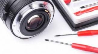 Как починить цифровой фотоаппарат