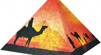 Как сделать бумажную пирамиду