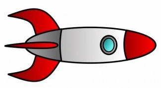 Как нарисовать космическую ракету