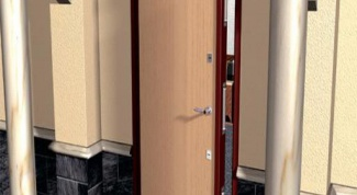 How to open the front door without a key