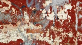Как отчистить старую краску