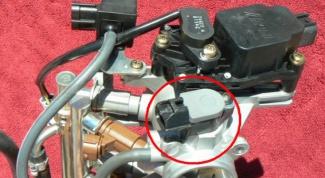 How to adjust position sensor throttle