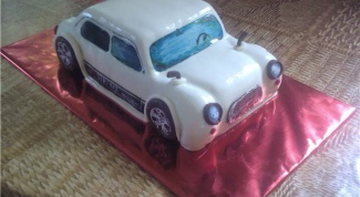 Как сделать торт машинку