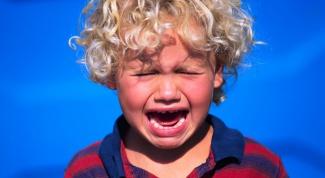 Как успокоить капризного ребенка
