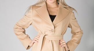 Как почистить светлое пальто
