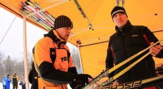 Как снять лыжную мазь