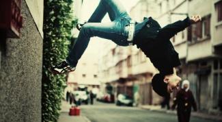 Как сделать сложный прыжок от стены