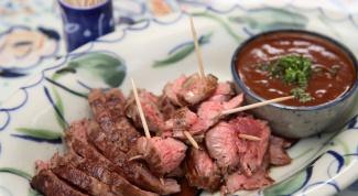 Как приготовить мясо страуса