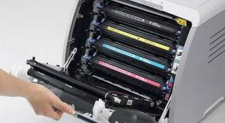 Как заправить картридж для цветного лазерного принтера
