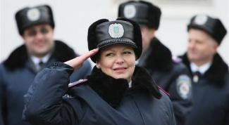Как поступить на службу в милицию на Украине