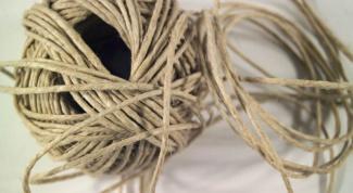 Как скрутить веревку