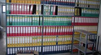 Как оформить дела при сдаче в архив
