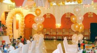 Как украсить зал к выпускному балу