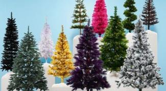 Как распушить елку искусственную