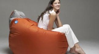 Как сделать бескаркасную мебель