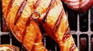 Как приготовить рыбный стейк
