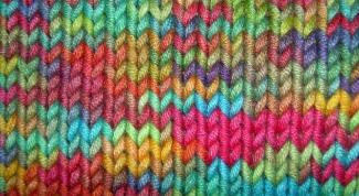 Как закончить вязку шарфа