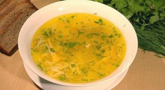 Как приготовить вкусный суп из курицы