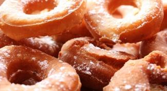 Как жарить пончики